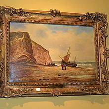 Joseph Horlor Oil on Canvas 1809- 1887, British.