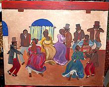 Pedro Figari Oil on Canvas