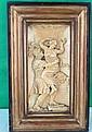 Magnificent Ivory Plaque  XVIII century, High Relief