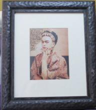 Frida Kahlo - Photo - Dedicated & Signed 7.5