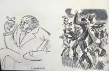 Miguel Covarrubias - Pencil on Paper - COA 22