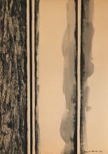 Baronet Newman - 1960 - Gouache on paper 12