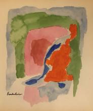 Helen Frankenthaler - Watercolor on paper 16