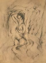 Carlos Enriquez - Pencil on paper 12,1/4