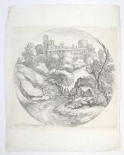 Grimaldi-Paesaggio, XVIIth century