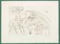 Salvador DALI (1904-1989) La Fontaine, les animaux malade de la peste de la série