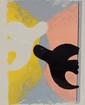 Georges BRAQUE (1882-1963), d'après  couple d'oiseaux  Deux estampes en couleurs sur papier. Signé en bas à droite (planche)  30,5 x 26 cm
