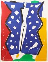 Aki KURODA (1944) Lithographie. Signée en bas à droite et numéroté 6/50 151 x 120 cm