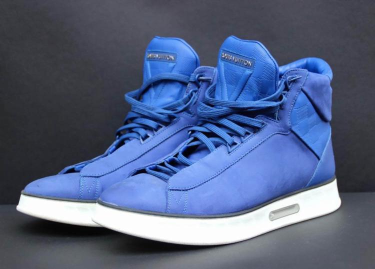 Louis VUITTON Sneaker Boot Streetlight Bleu