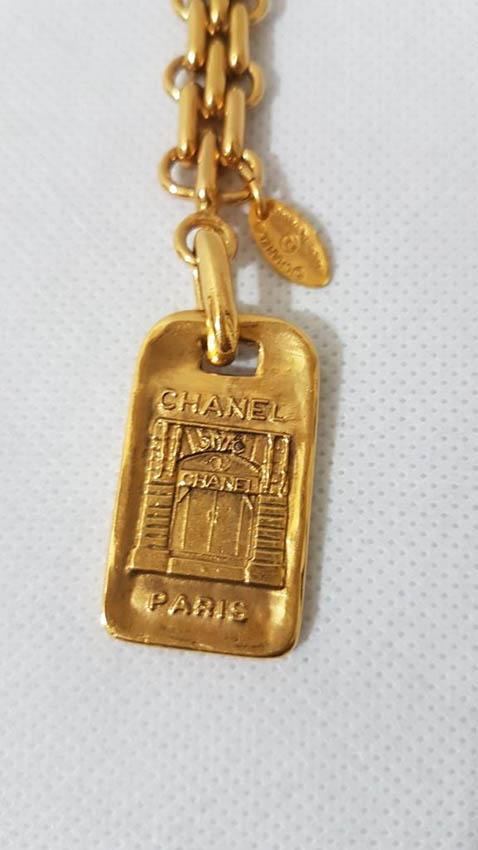 CHANEL Porte-clef ou bijou de sac en