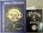 FERRERO : L'aeil vif argent. Avec envoi   Fluxus à Nice, envoi de Serge III