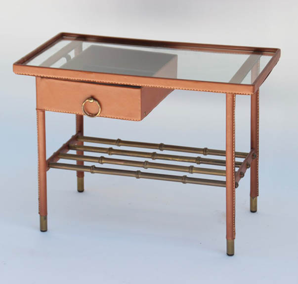 Jacques adnet 1900 1984 vers 1950 petite table d 39 appoint - Petite table appoint ...