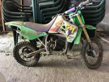Moto pour enfant, vendue dans l'état