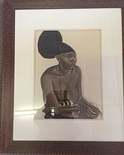 Alexander Evgenevich IACOVLEFF (1887-1938)  Uru, La Mangbetou (Niangara)