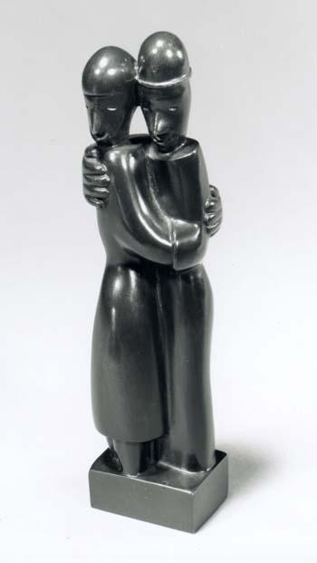 Jean LAMBERT-RUCKI (1888-1967) LES DANSEURS - c. 1925