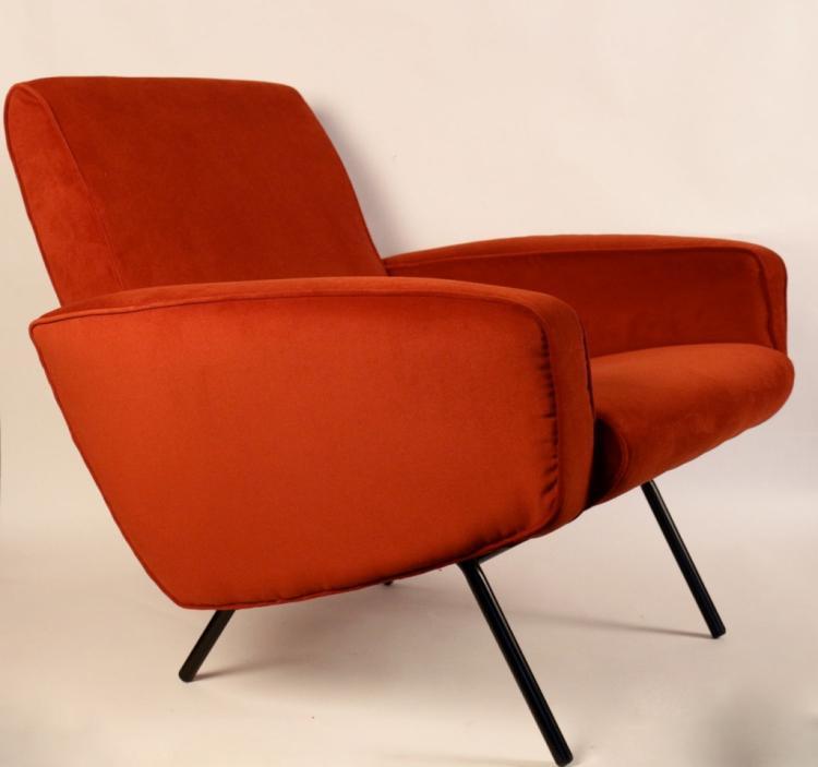 Pierre PAULIN (1927-2009) - Edition THONET - vers 1955  Paire de fauteuils
