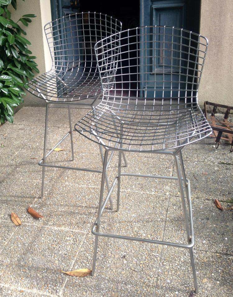 Harry bertoia 1915 1978 edition knoll international ve - Tabouret bar bertoia ...