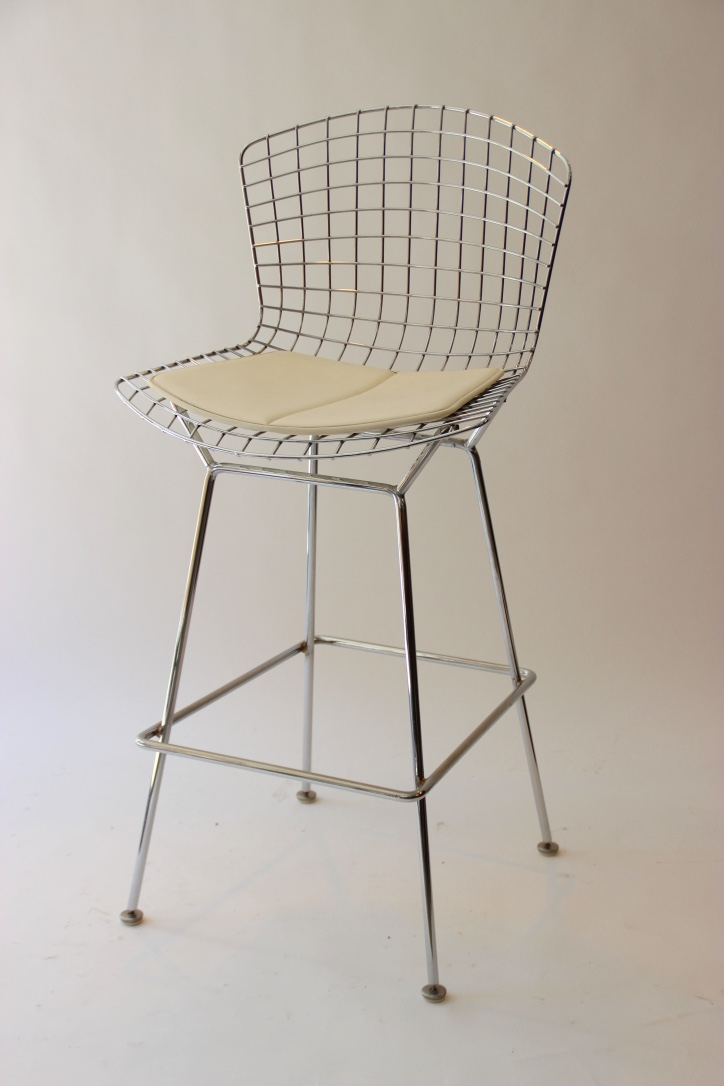 Harry BERTOIA (1915-1978) - Edition KNOLL  Tabouret de bar .