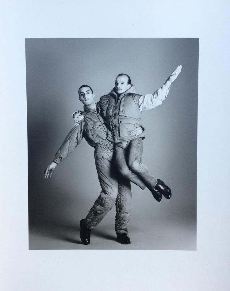 Bettina RHEIMS (1952)  Farid Chopel et Ged Marlon à l'occasion du spectacle