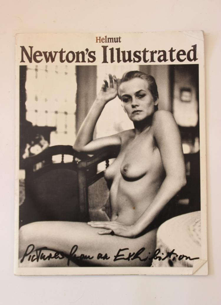 Helmut NEWTON (1920-2004)  NEWTON'S ILLUSTRATED - un volume