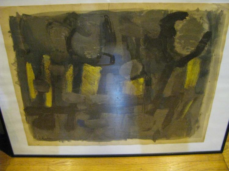 Paul ACKERMAN (1908-1981)  Les taureaux
