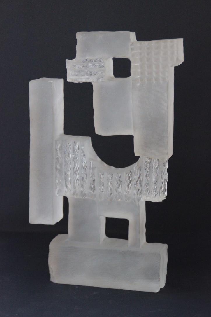 BKI KERKOVE ?  Sculpture en verre - 1973