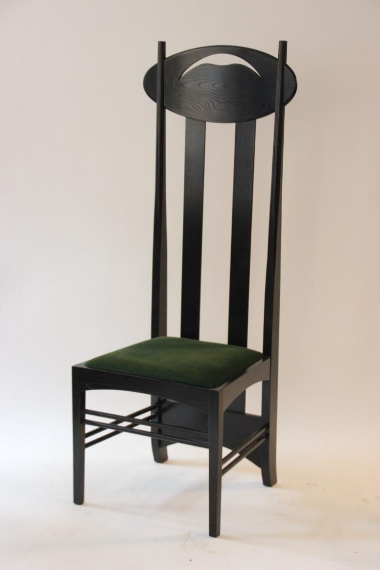 charles rennie mackintosh 1868 1928 d 39 apr s chaise en fr. Black Bedroom Furniture Sets. Home Design Ideas