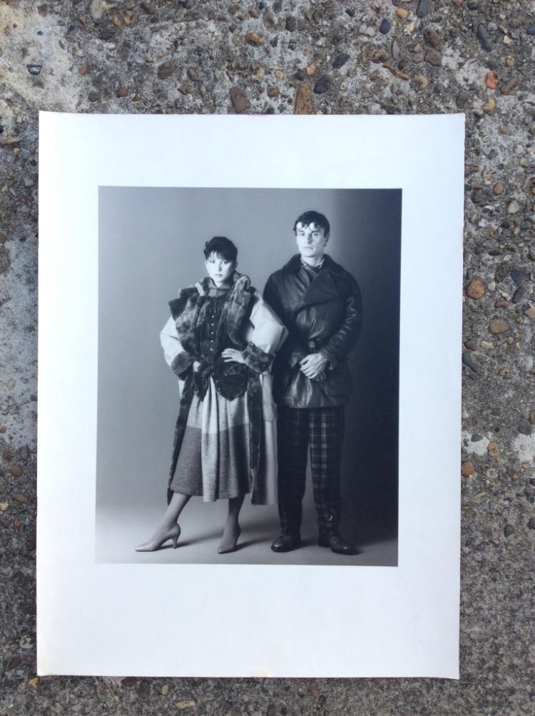 Bettina RHEIMS (1952)  Elisabeth et Gérard Garouste