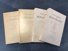Oeuvres completes de Jean COCTEAU  4 volumes, ed.