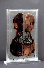 ARMAN (1928-2005)  The Last violin