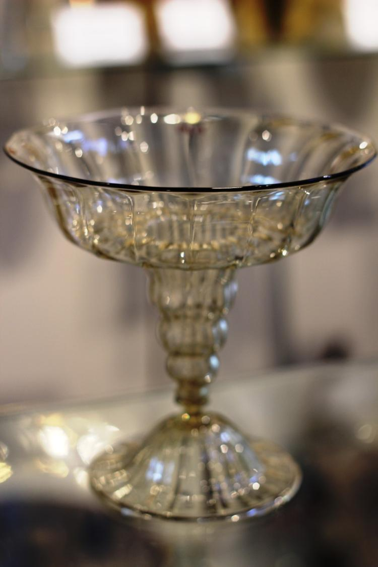 Murano Glass Compote