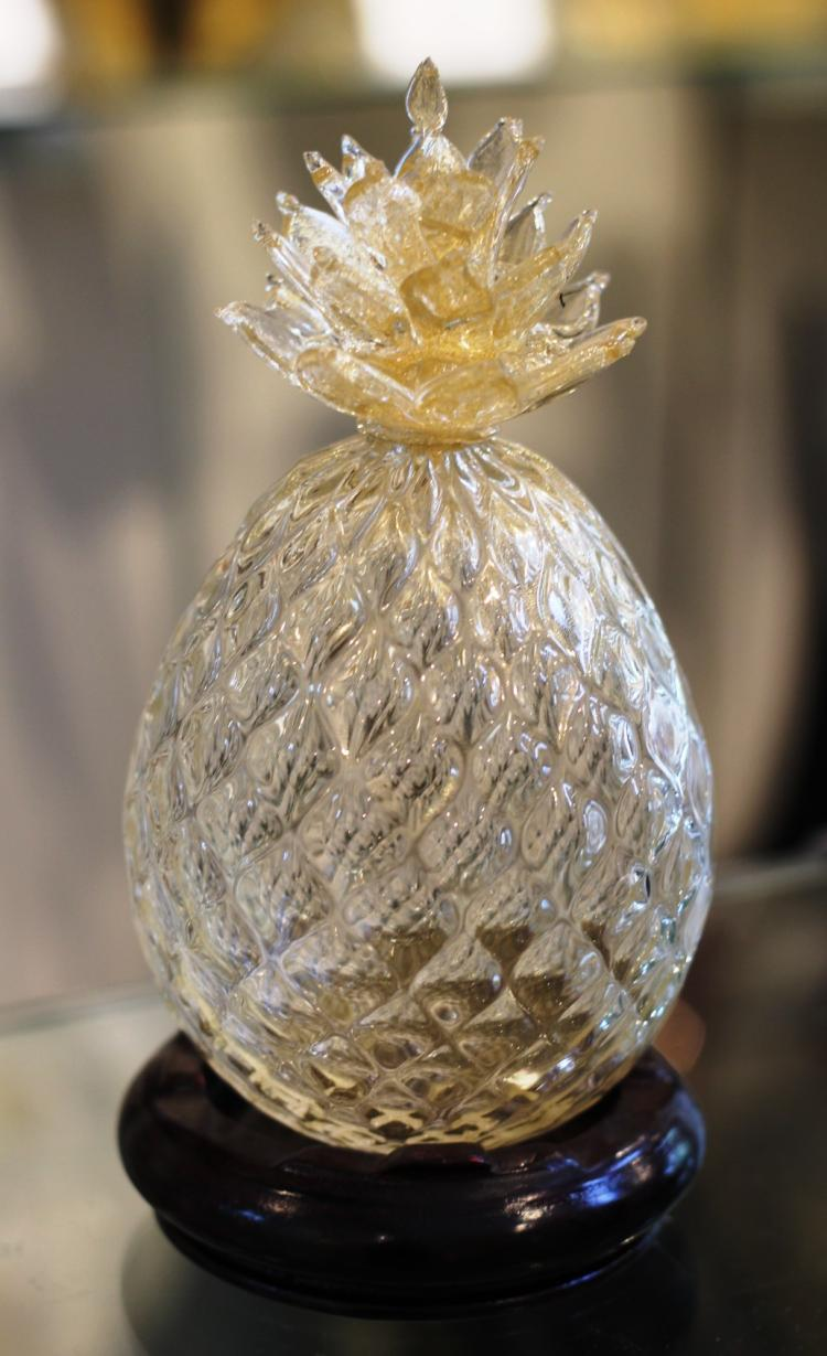 Murano Glass Pineapple
