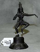 Bronze dancing figure. H:5.75
