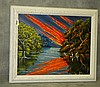 Florida Highwaymen painting oil on canvas by M.A Carroll, Mary Anne Carroll, Click for value