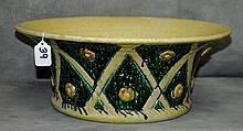 Large Majolica bowl. H:6.5