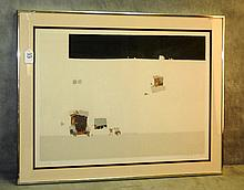 Bruno Widmann screenprint titled