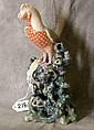 Exquisite Chinese export porcelain bird