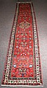 Persian oriental rug. 3'5 X 16'6'