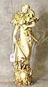 Teplitz porcelain figure of a woman