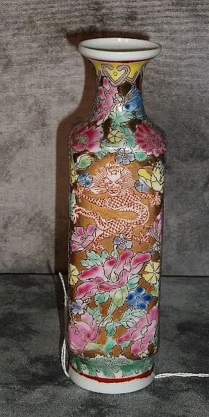 Chinese porcelain milla flora vase