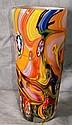 Great Italian art glass vase