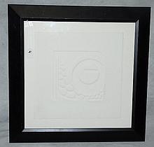 Gallery framed artist proof by Judy Targan