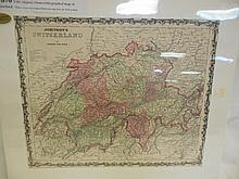 Johnson's Switzerland Map