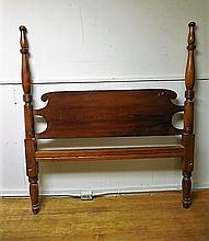Antique Tiger Maple 4 Post Bed