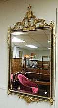Gold/Black Wall Mirror