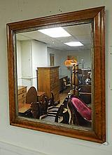 Antique Maple Wall Mirror