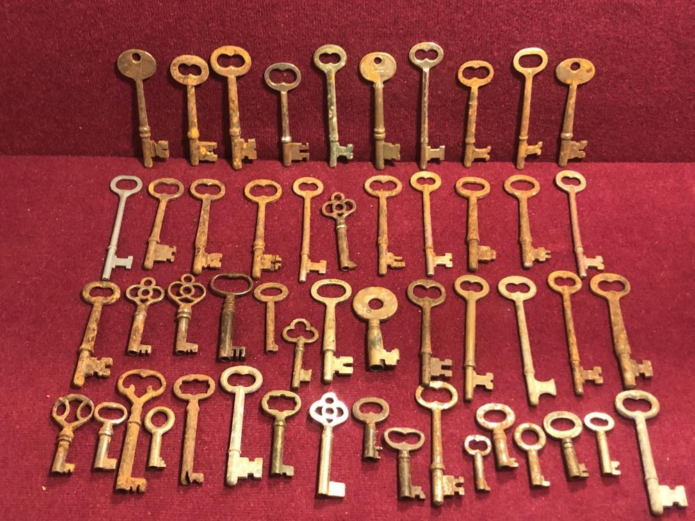 Antique & vintage skeleton keys