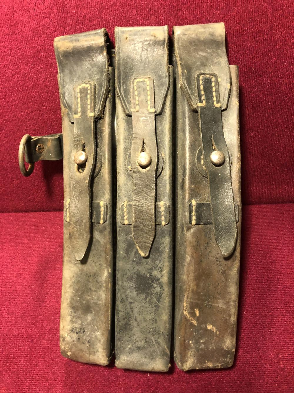 WWII German Nazi ammunition pouch