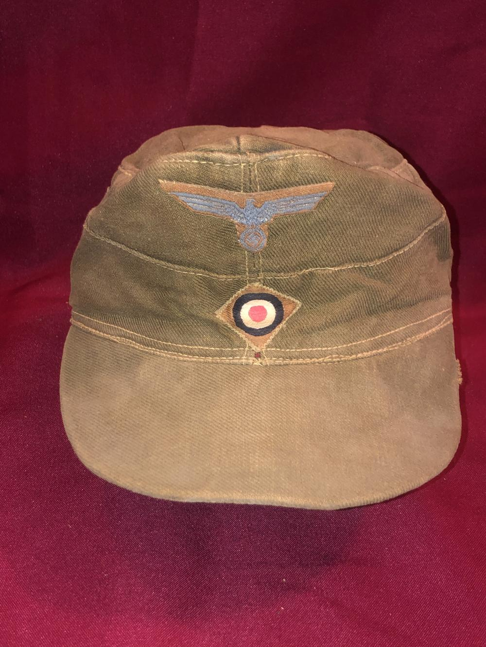 WWII German Nazi field cap
