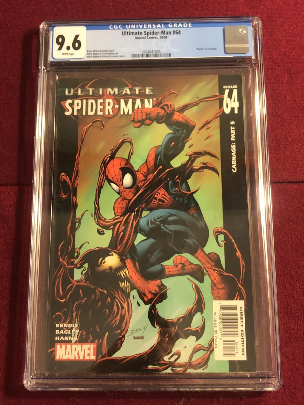 Ultimate Spider-man #64 Marvel comic - graded